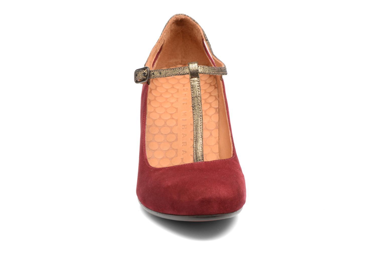 Escarpins Chie Mihara Jas Rouge vue portées chaussures