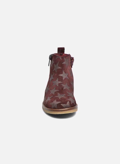 Bottines et boots Acebo's Shara Bordeaux vue portées chaussures