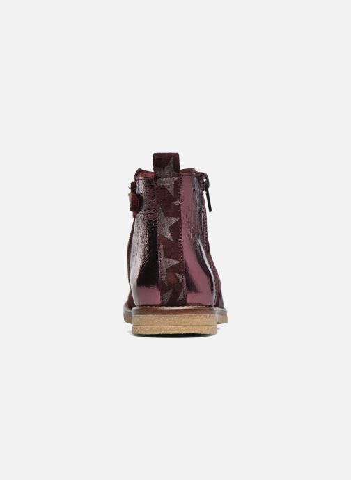 Ankle boots Acebo's Shara Burgundy view from the right