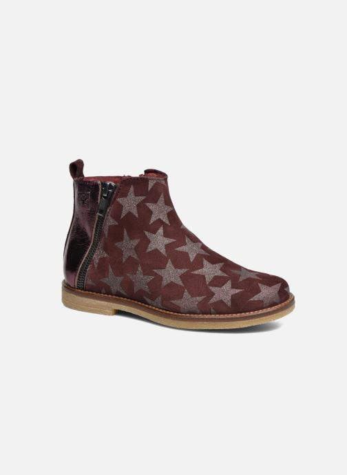 Ankle boots Acebo's Shara Burgundy detailed view/ Pair view