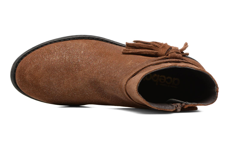 Bottines et boots Acebo's Lolita Marron vue gauche