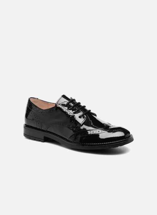 Chaussures à lacets Acebo's Camilla Noir vue détail/paire