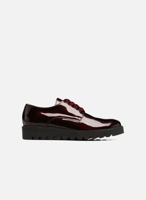 Chaussures à lacets Acebo's Simona Bordeaux vue derrière