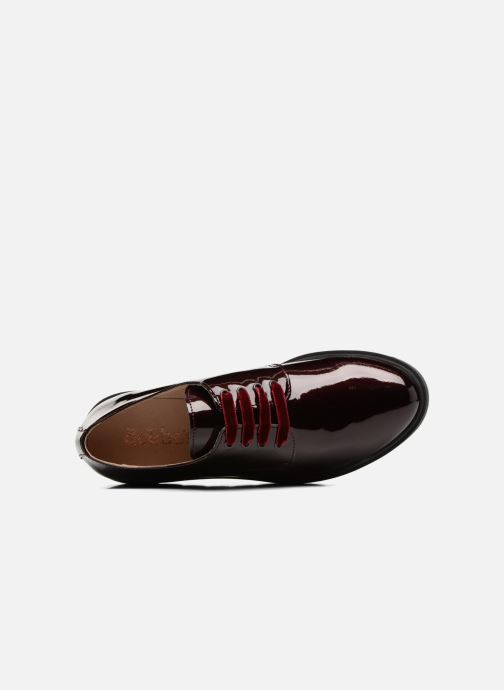 Chaussures à lacets Acebo's Simona Bordeaux vue gauche
