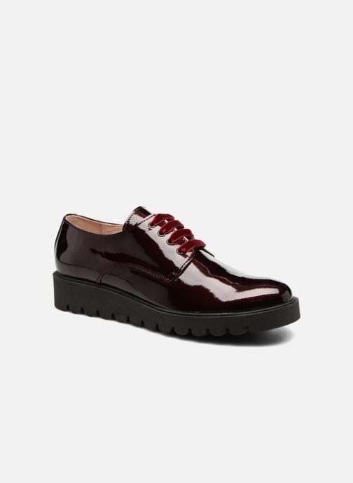 Chaussures à lacets Acebo's Simona Bordeaux vue détail/paire