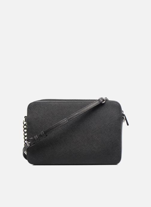 Handtaschen Michael Michael Kors LG EW Crossbody schwarz ansicht von vorne