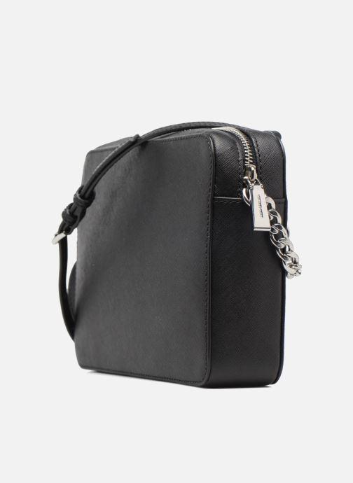 Handtaschen Michael Michael Kors LG EW Crossbody schwarz ansicht von rechts