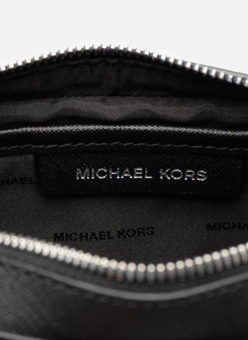 Handtassen Michael Michael Kors LG EW Crossbody Zwart achterkant