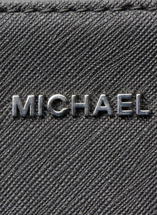 Handtaschen Michael Michael Kors LG EW Crossbody schwarz ansicht von links
