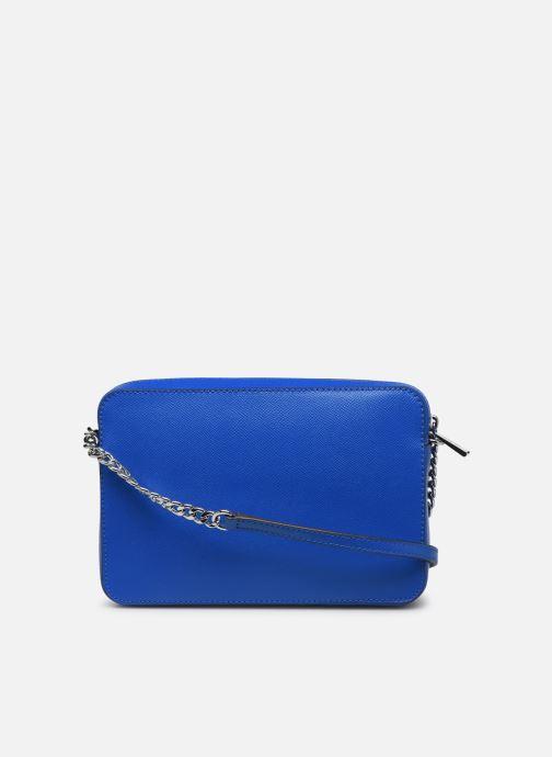 Bolsos de mano Michael Michael Kors LG EW Crossbody Azul vista de frente
