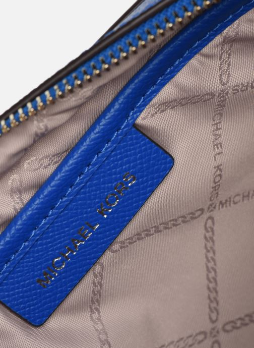 Handtassen Michael Michael Kors LG EW Crossbody Blauw achterkant