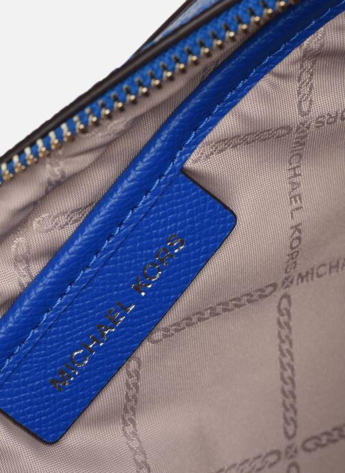 Handbags Michael Michael Kors LG EW Crossbody Blue back view