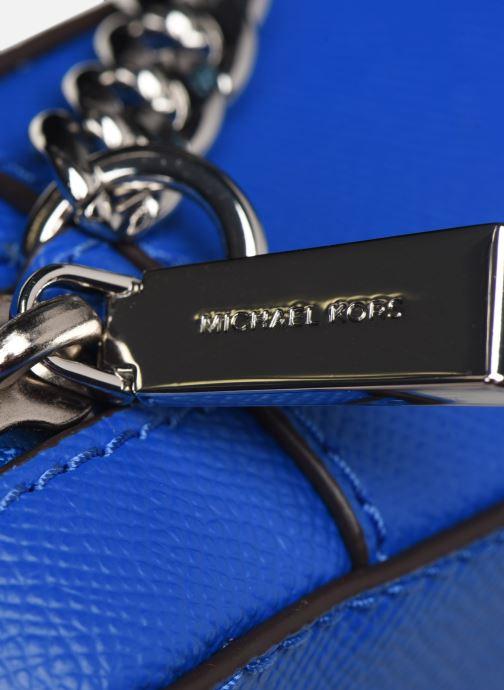 Handtaschen Michael Michael Kors LG EW Crossbody blau ansicht von links