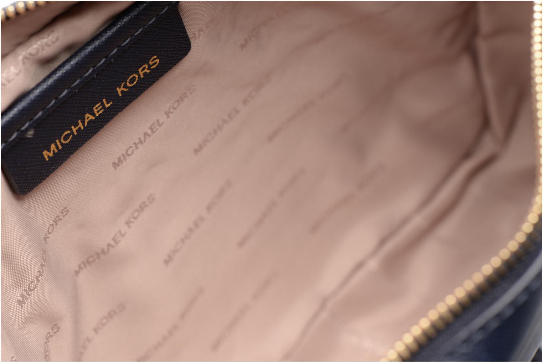 Sacs à main Michael Michael Kors LG EW Crossbody Bleu vue derrière