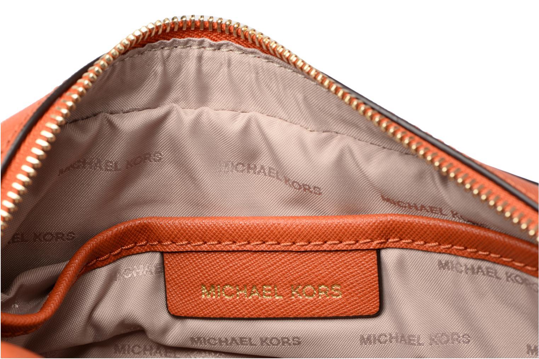 Bolsos de mano Michael Michael Kors LG EW Crossbody Naranja vistra trasera