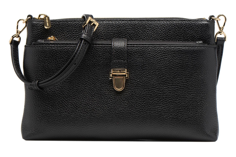 Bolsos de mano Michael Michael Kors LG Snap Pocket X body Negro vista de detalle / par