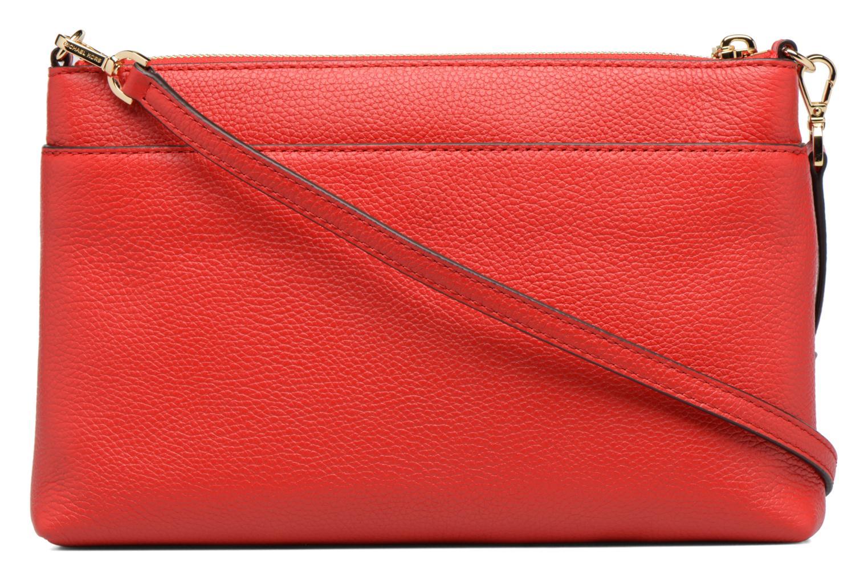 Sacs à main Michael Michael Kors LG Snap Pocket X body Rouge vue face