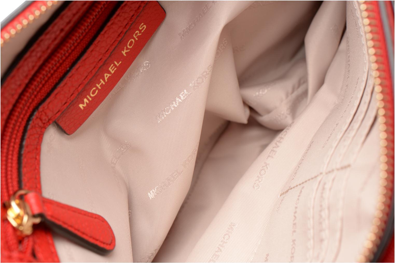 Sacs à main Michael Michael Kors LG Snap Pocket X body Rouge vue derrière