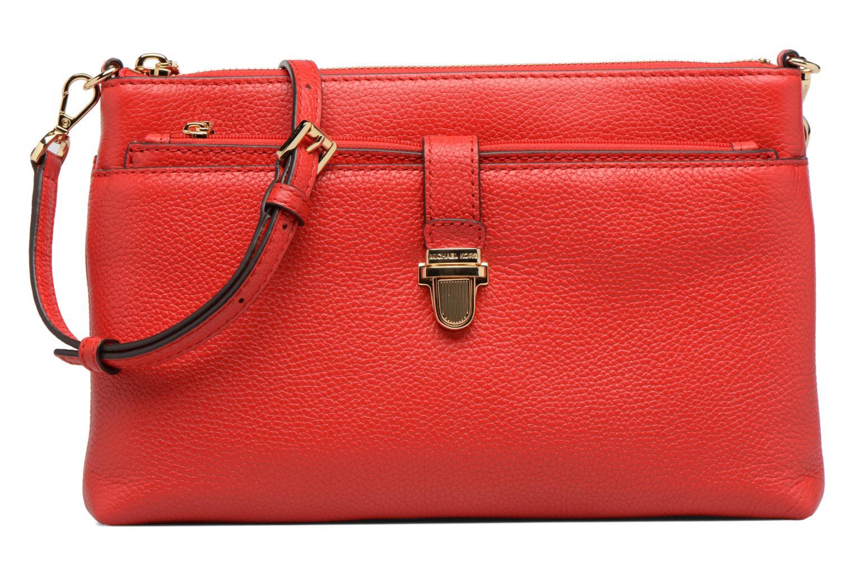 Sacs à main Michael Michael Kors LG Snap Pocket X body Rouge vue détail/paire