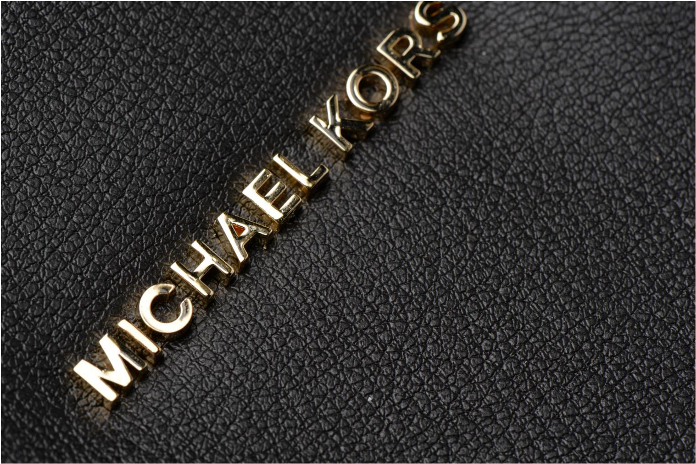 Bolsos de mano Michael Michael Kors Rivingtonstud LG Tote Negro vista lateral izquierda