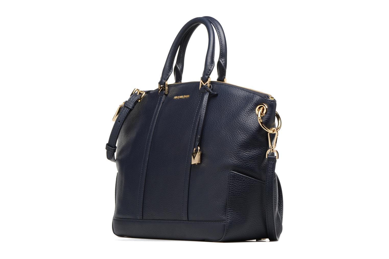 Bolsos de mano Michael Michael Kors Beckett LG TZ Satchel Azul vista del modelo