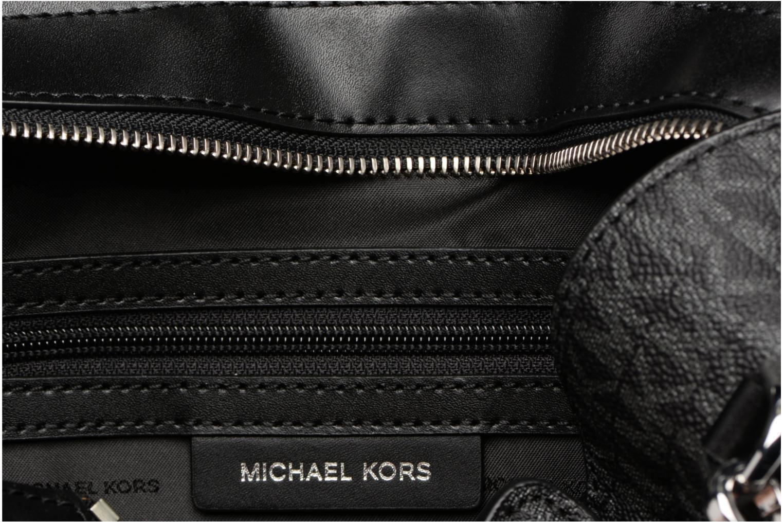 Borse Michael Michael Kors Hamilton LG EW Stachel Nero immagine posteriore