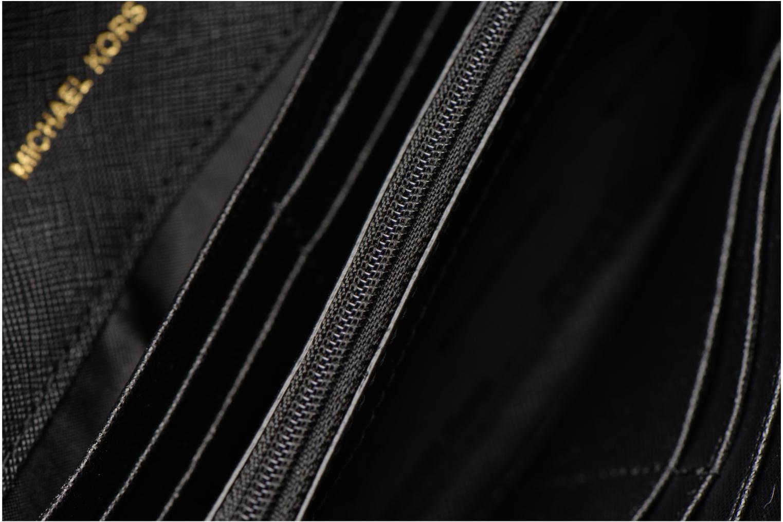 Sacs à main Michael Michael Kors Jet Set Wallet on a chain Noir vue derrière