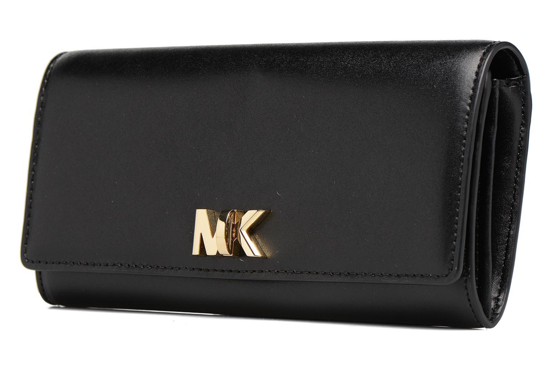 Marroquinería pequeña Michael Michael Kors Motte LG Carryall Negro vista del modelo
