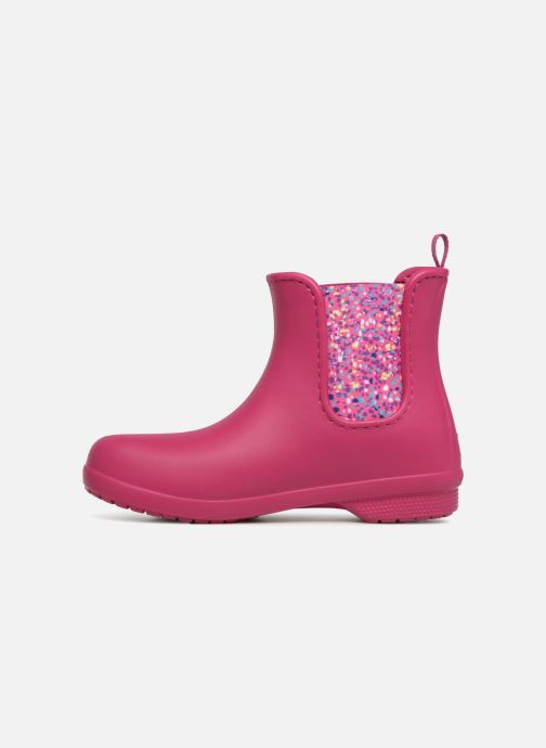 Bottines et boots Crocs Crocs Freesail Chelsea Boot W Rose vue face