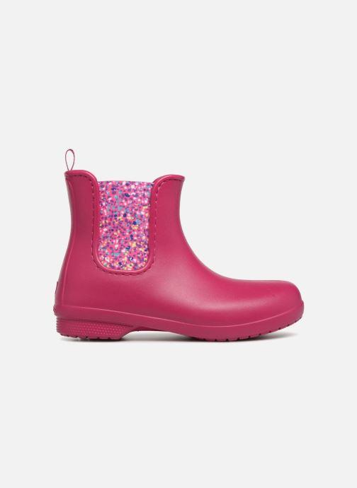 Bottines et boots Crocs Crocs Freesail Chelsea Boot W Rose vue derrière