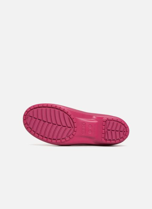 Bottines et boots Crocs Crocs Freesail Chelsea Boot W Rose vue haut