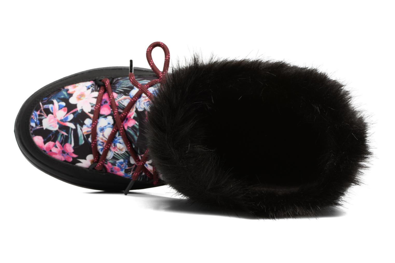 Bottes Crocs LodgePoint Graphic Lace Boot W Noir vue gauche