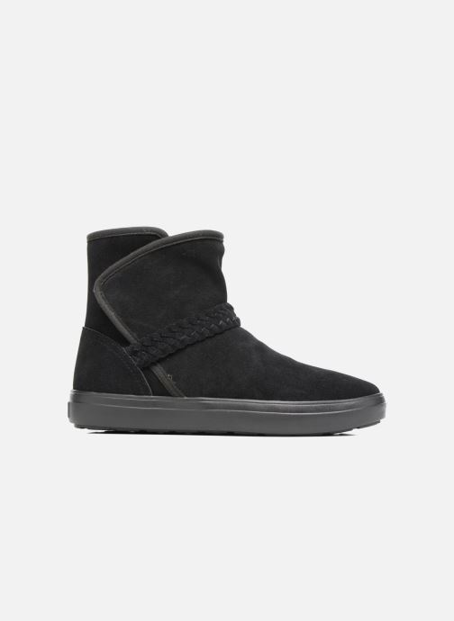 Bottines et boots Crocs Lodge Point Suede Bootie W Noir vue derrière