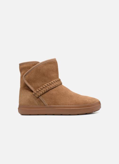 Bottines et boots Crocs Lodge Point Suede Bootie W Marron vue derrière