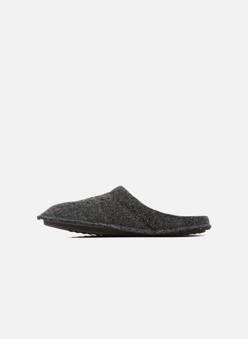 Pantuflas Crocs Classic Slipper Negro vista de frente