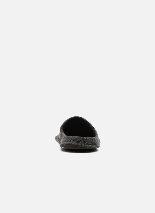 Pantuflas Crocs Classic Slipper Negro vista lateral derecha