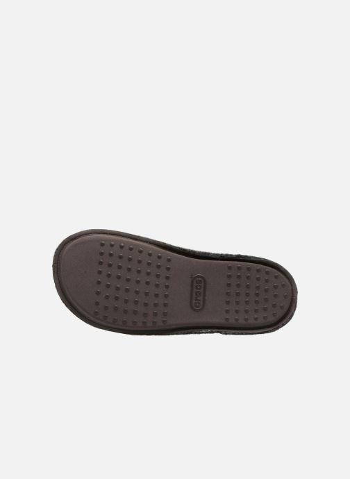 Hausschuhe Crocs Classic Slipper schwarz ansicht von oben