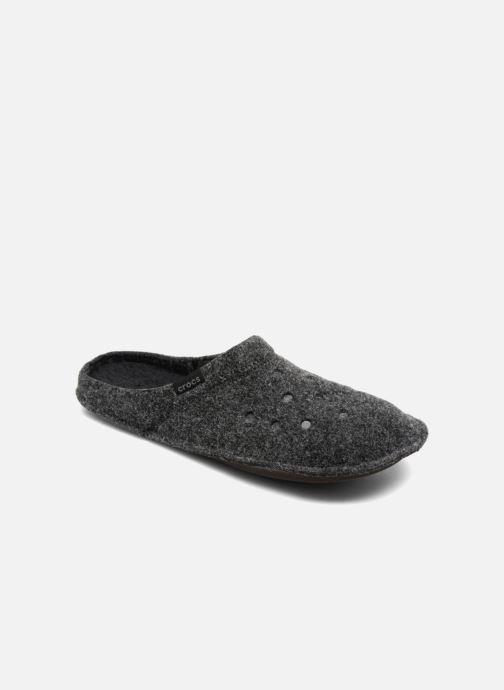 Pantuflas Crocs Classic Slipper Negro vista de detalle / par