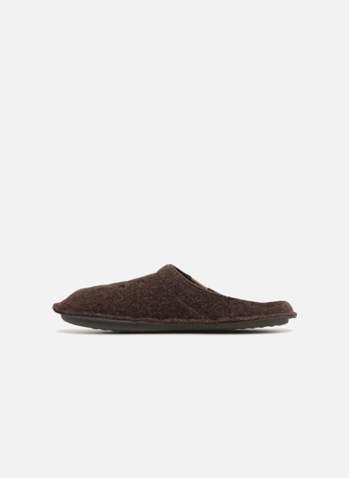 Chaussons Crocs Classic Slipper Marron vue face