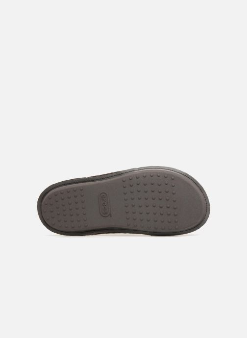 Chaussons Crocs Classic Slipper Marron vue haut