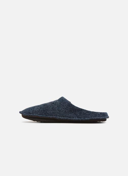 Chaussons Crocs Classic Slipper Bleu vue face