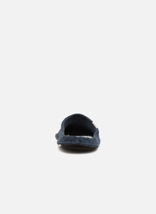 Chaussons Crocs Classic Slipper Bleu vue droite