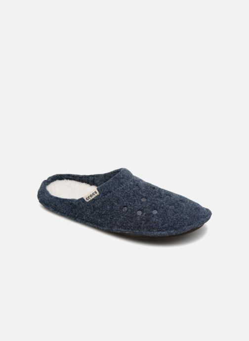 Chaussons Crocs Classic Slipper Bleu vue détail/paire