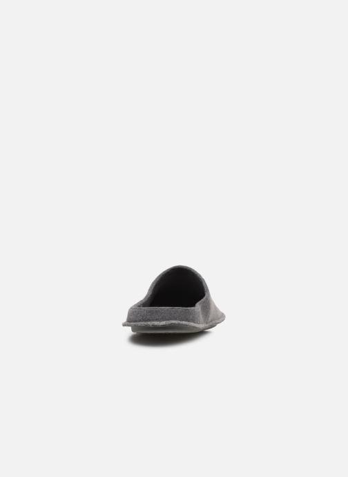 Hausschuhe Crocs Classic Slipper grau ansicht von rechts