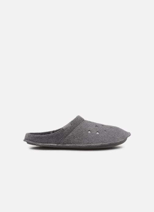 Hausschuhe Crocs Classic Slipper grau ansicht von hinten