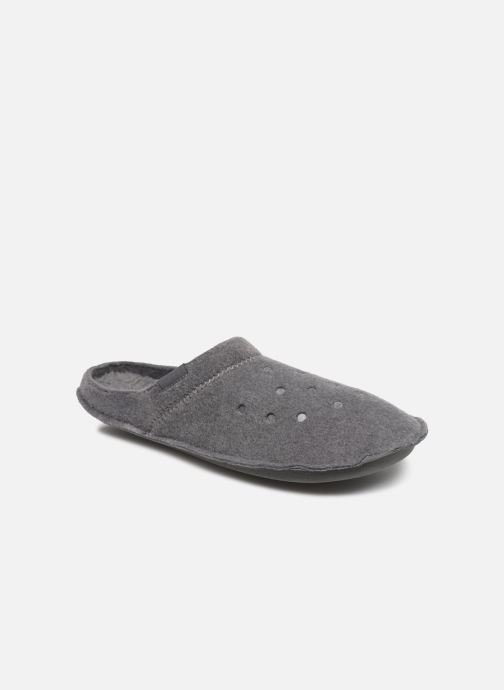 Chaussons Crocs Classic Slipper Gris vue détail/paire