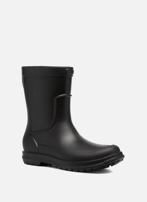 Bottes Crocs AllCast Rain Boot M Noir vue détail/paire