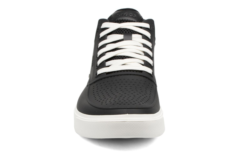 Baskets Crocs CitiLane Roka Chukka Noir vue portées chaussures