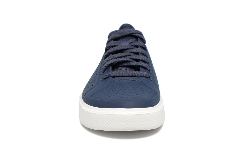 Baskets Crocs Citilane Roka Court Bleu vue portées chaussures