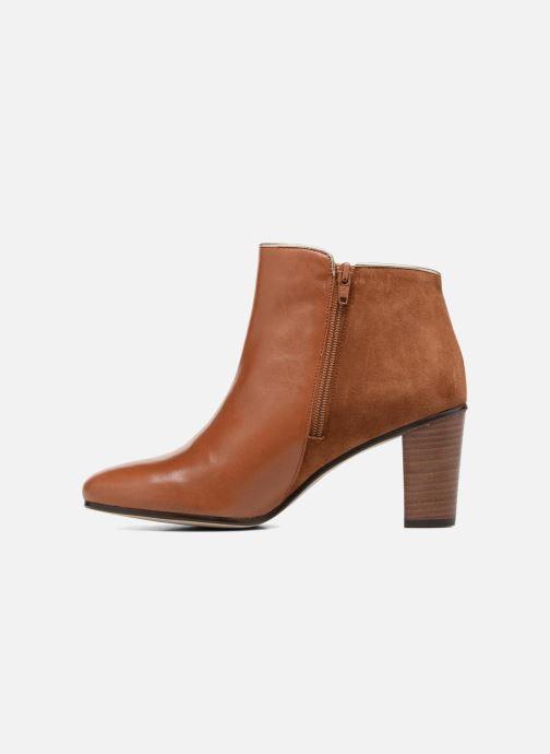 Bottines et boots Georgia Rose EOLIA Marron vue face
